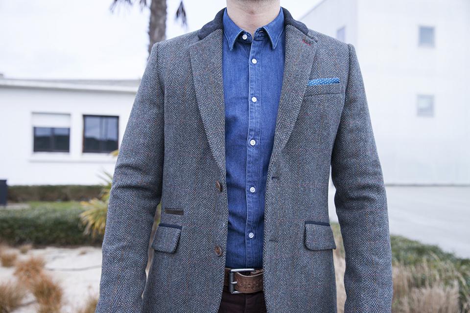 Chemise jeans Maison Standards Blazer