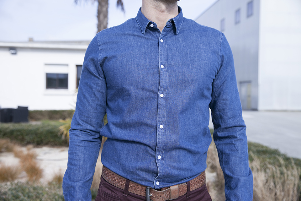 Chemise jeans Maison Standards Portee