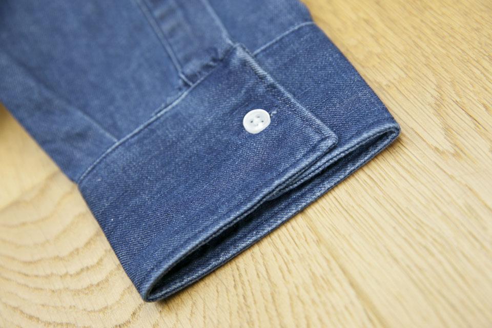 Chemise jeans Maison Standards Poignets