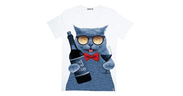 t-shirt-wine-cat