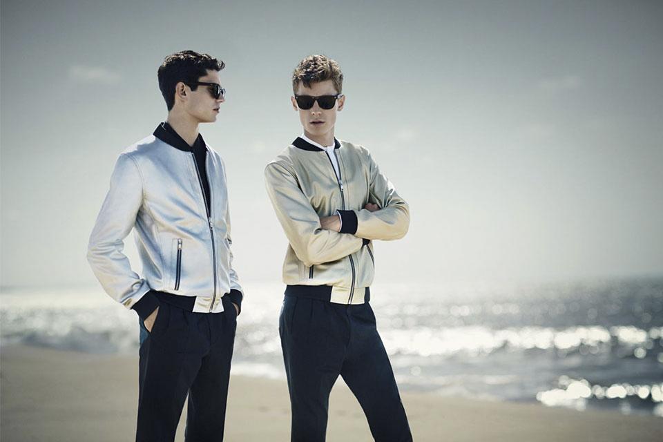 zara homme ss14 sportswear futuriste