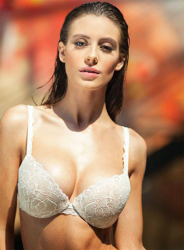 Alejandra Guilmant Esquire Magazine lingerie