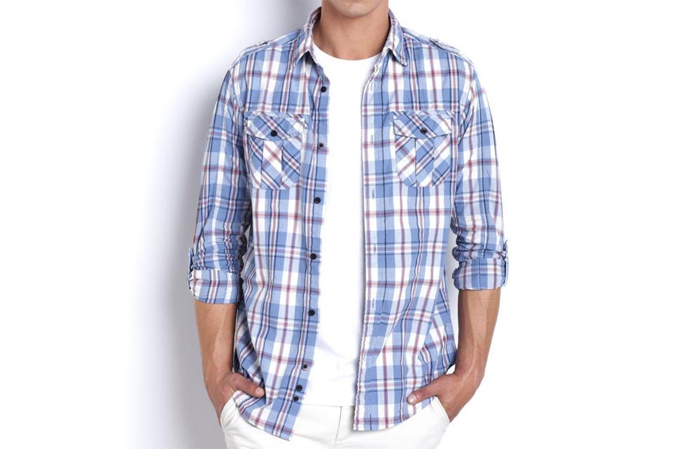 chemise carreaux normcore