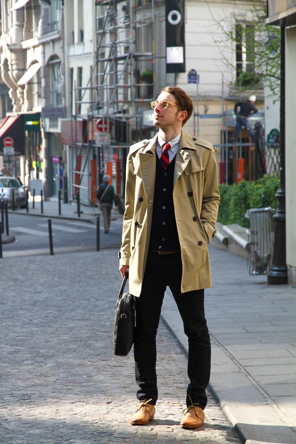 look pluie chic homme