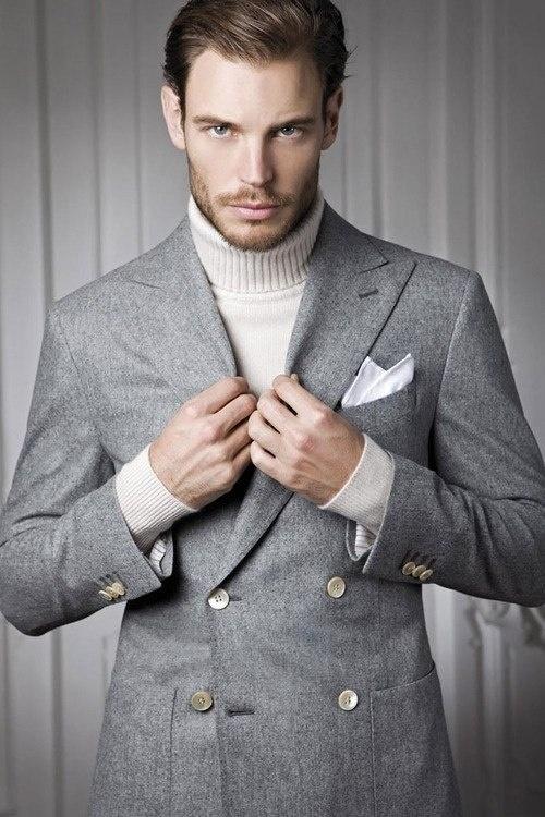 blazer croise casual