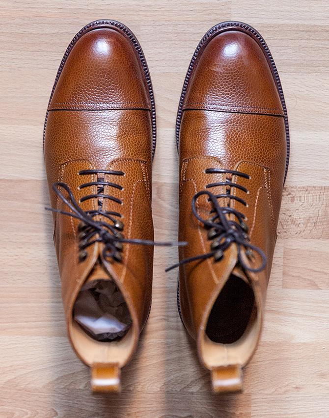 Boots Meermin dessus
