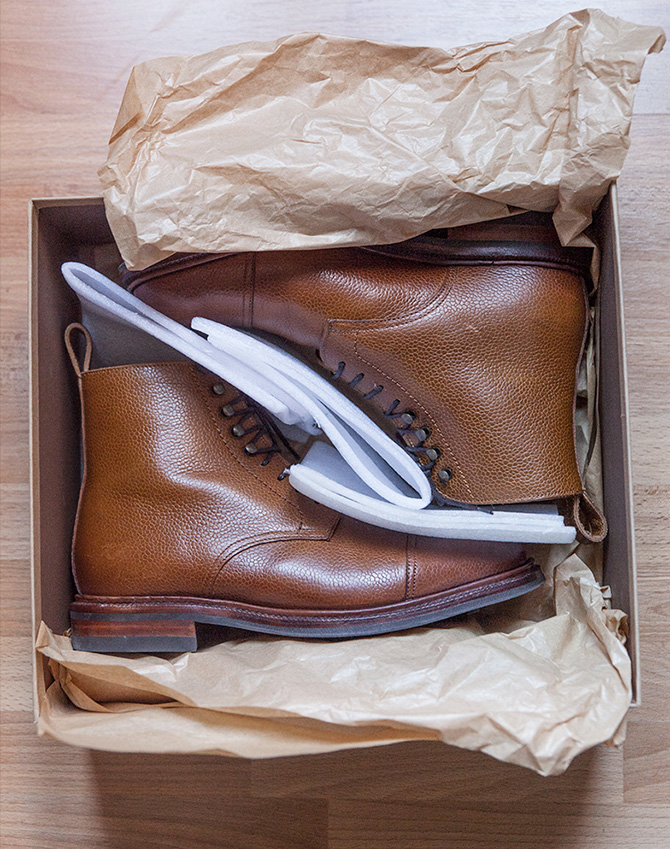 Boots Meermin emballage
