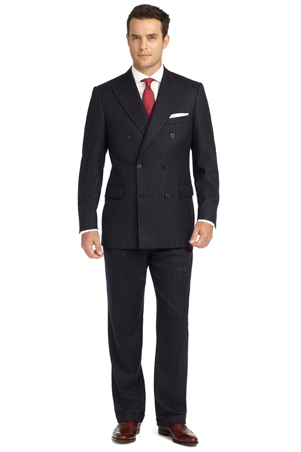 brooks brothers costume croisé