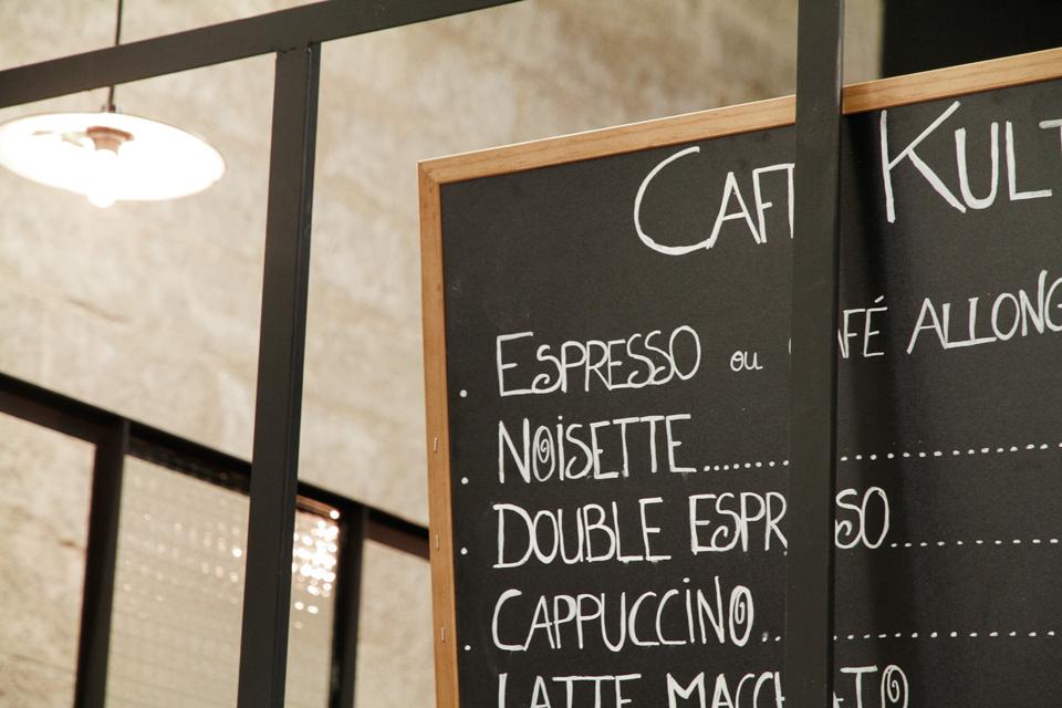 carte cafe kulte