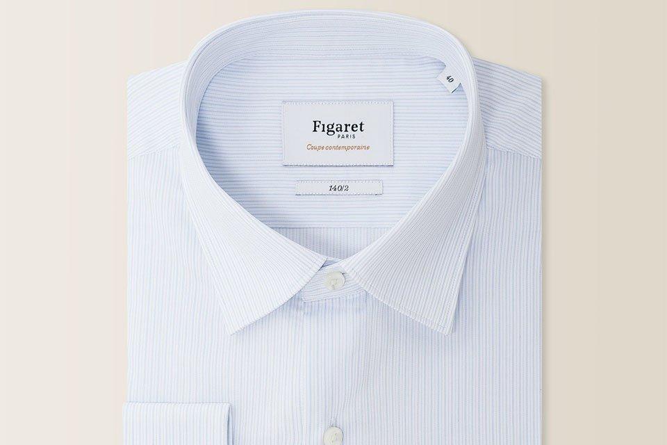 chemise figaret paris titrage 140