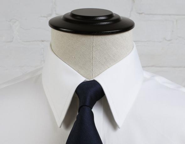 col français chemise homme