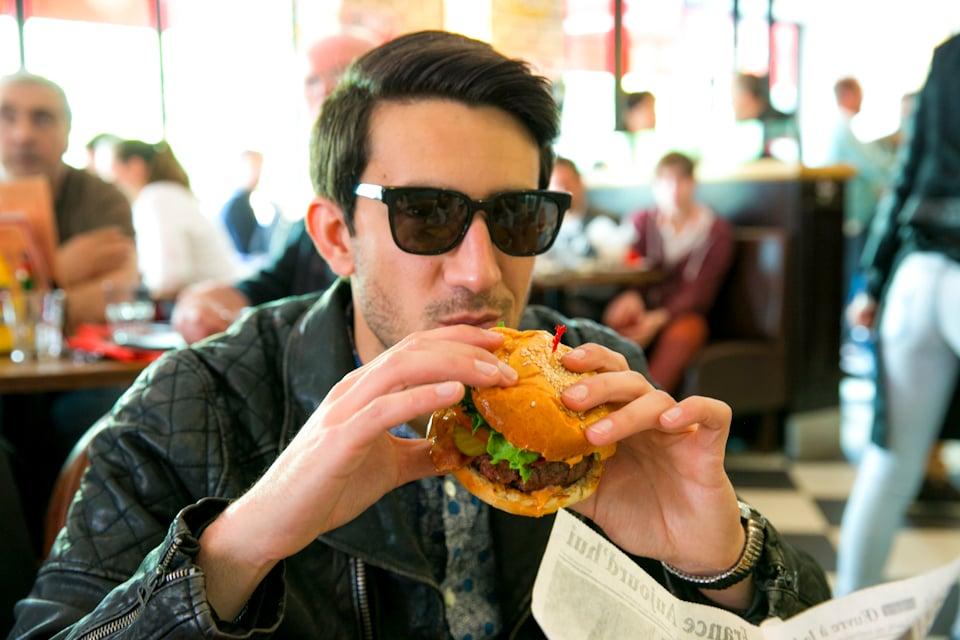 romano comme un camion burger
