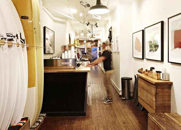 saturdays surf nyc coffe shop soho