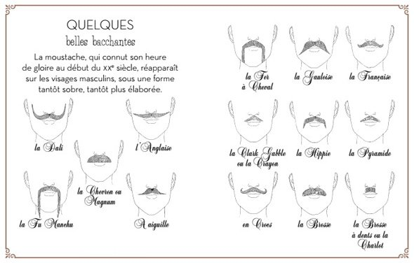 moustaches style type