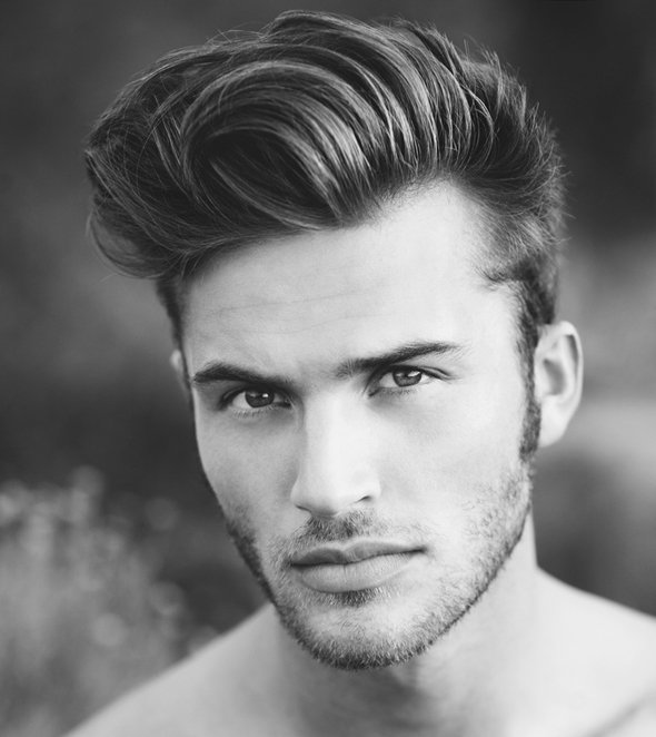 Conseil coiffure homme grand front