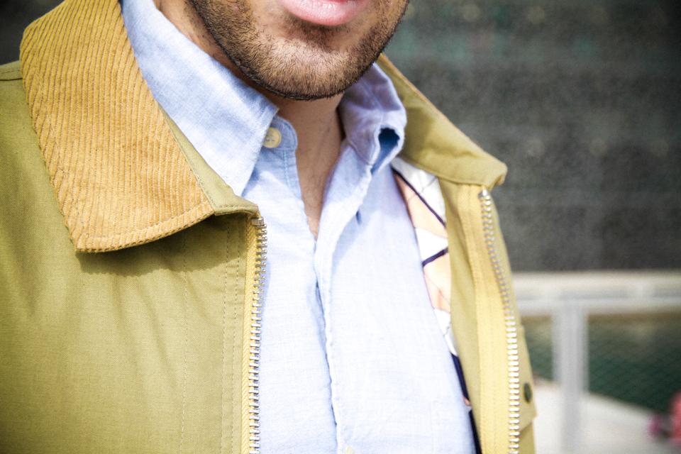 gant rugger satchel jacket