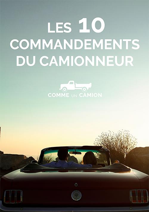 illustration 10 commandements