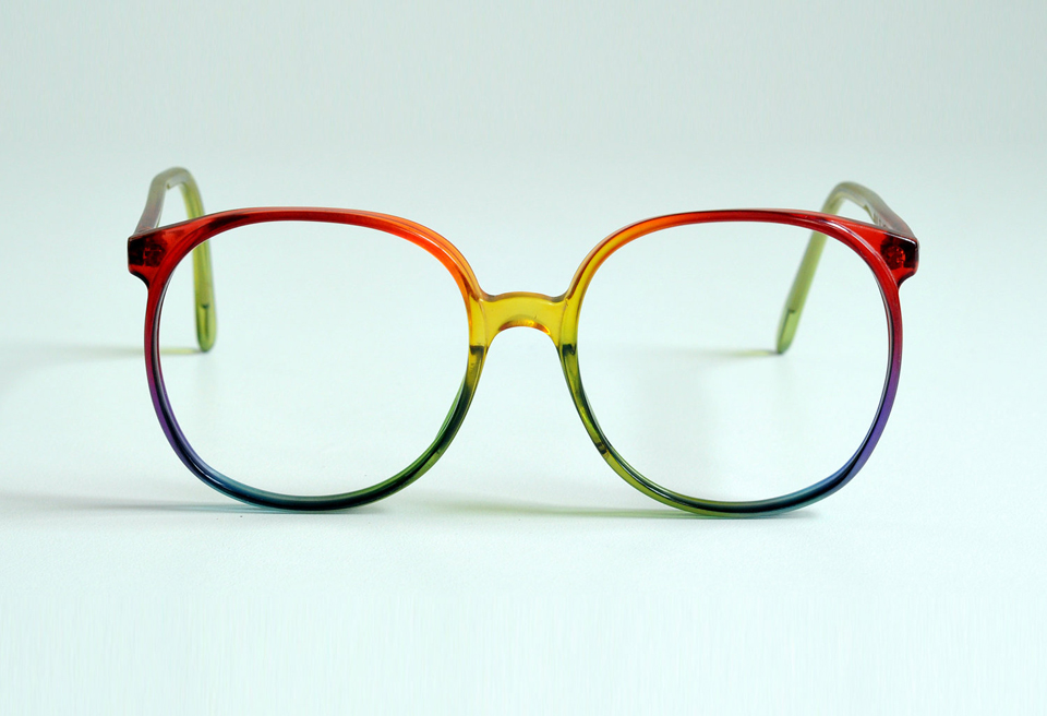 monture coloré lunettes