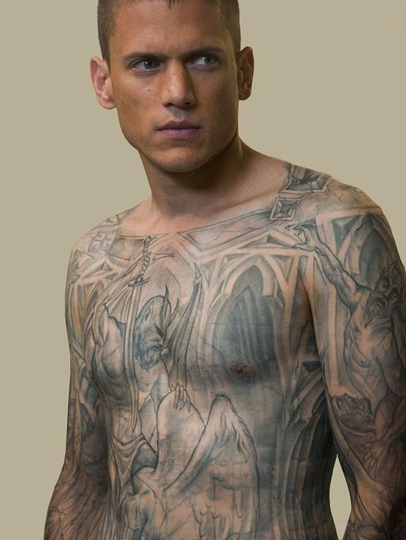 tatouage prison break wentworth miller