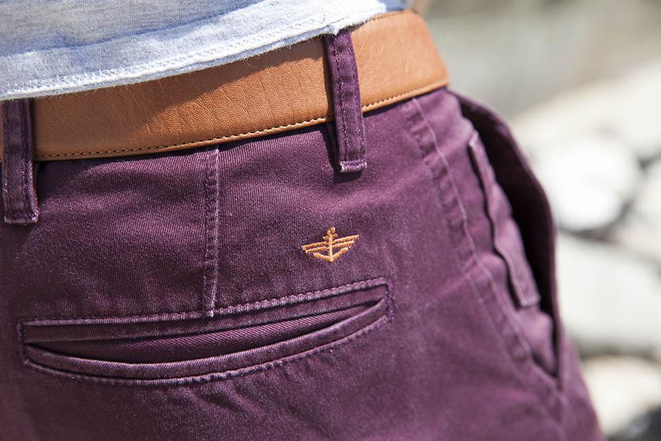 Chino Dockers Slim Logo