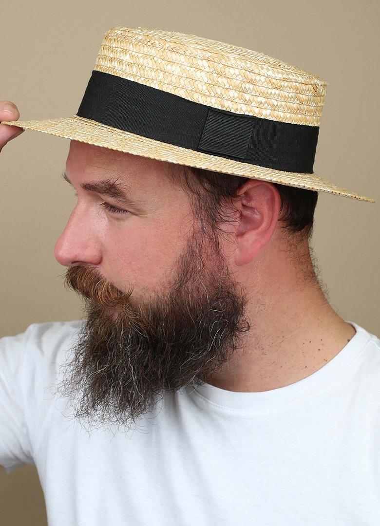 Canotier chapeau