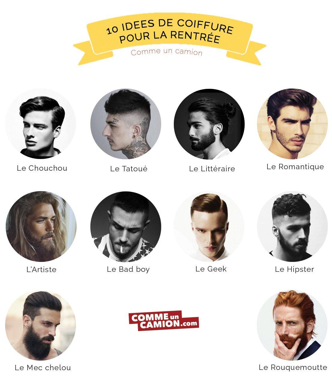 10 idées de coiffure pour la rentrée