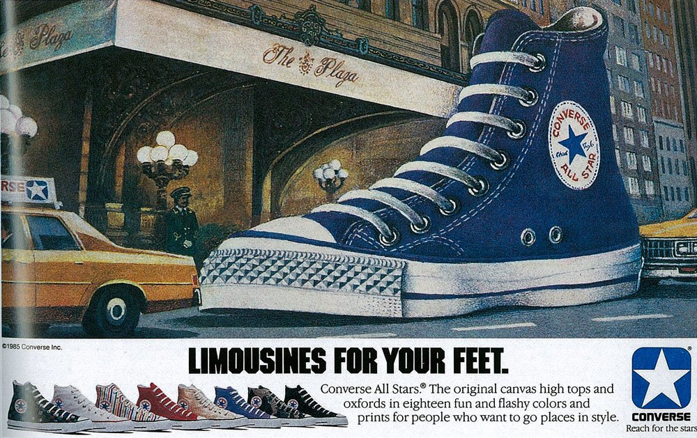 convers 1980s ad