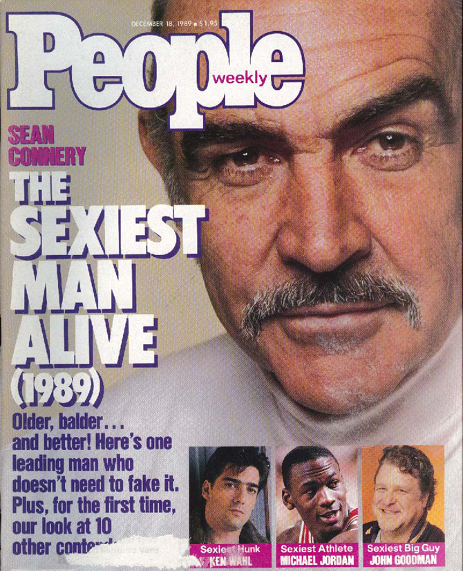 Sean Connery Sexiest Man Alive