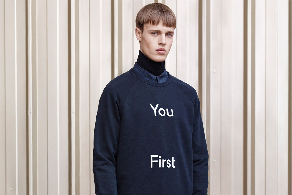 acne aw14 col roule