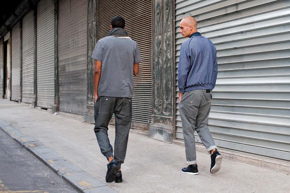 bleu de paname aw14 pantalon molleton sweatpants homme