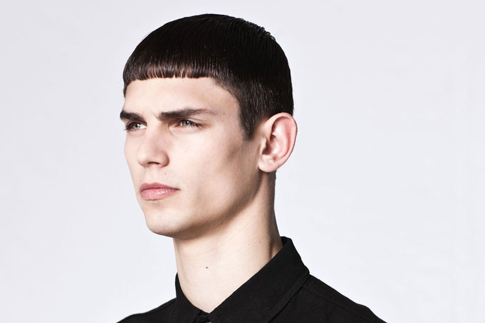 cheveux court homme lookbook kris van assche x lee