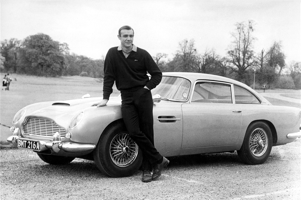 sean connery james bond 007 aston martin