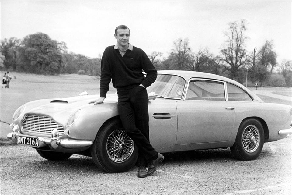 sean connery james bond 007 aston martin