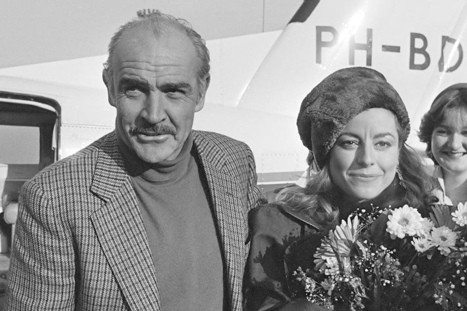 Sean Connery en Micheline Roquebrune