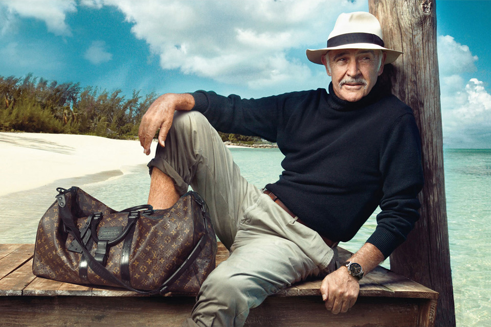 sean connery vuitton