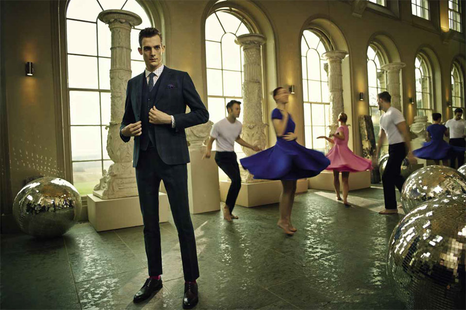 ted baker aw14 costume prince de galles
