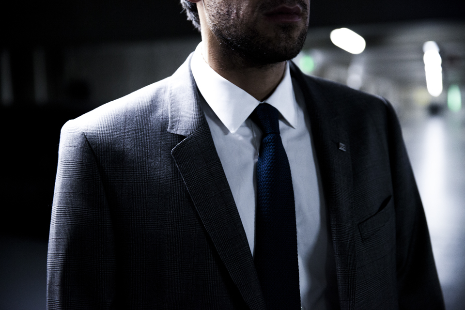 tie and suit