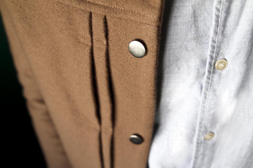 veste valentin harmony boutons