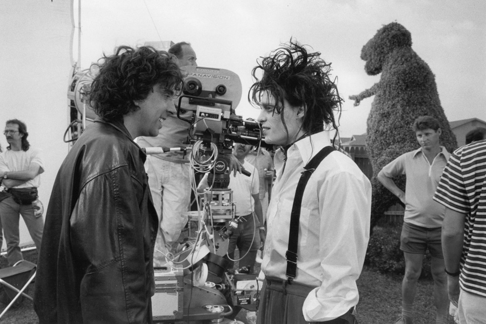 icone-de-style-johnny-depp-tim-burton-tournage-edward-scissorhands