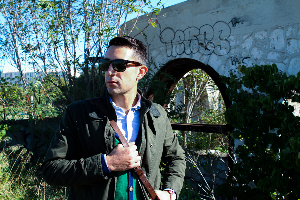 look veste chasse homme