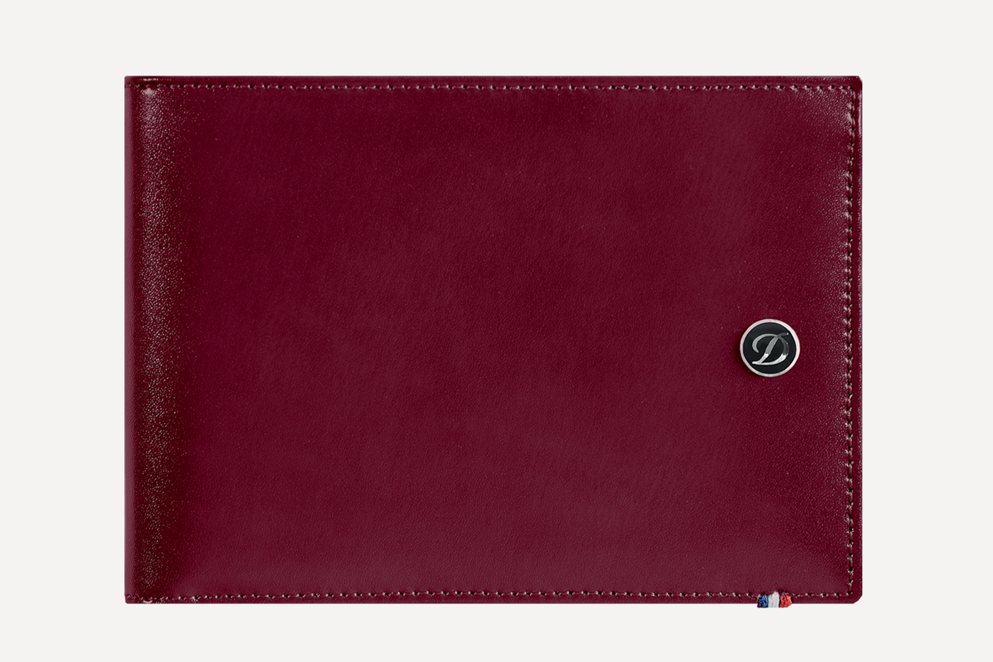 Portefeuille st dupon cuir rouge