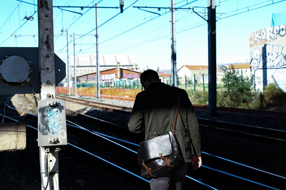 rail de trains mode homme