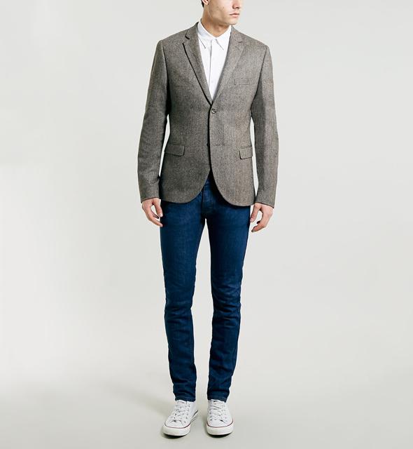 blazer jeans chemise topman