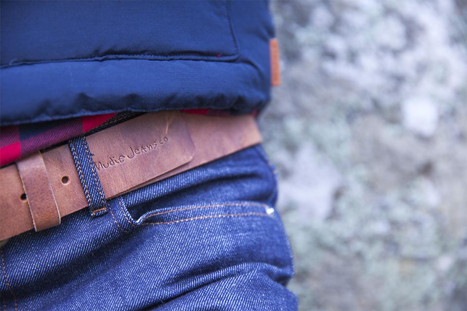 ceinture en cuir nudie jeans