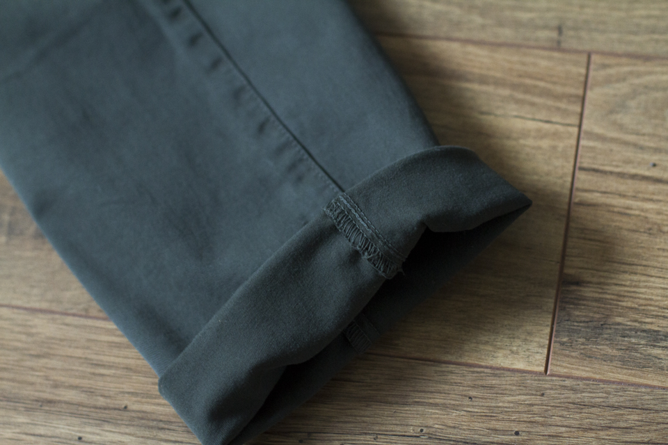 chino menlook label ourlet