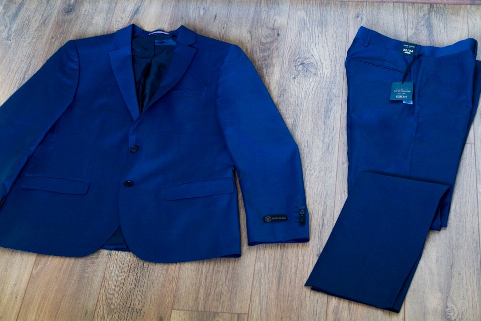 costume river island slim fit