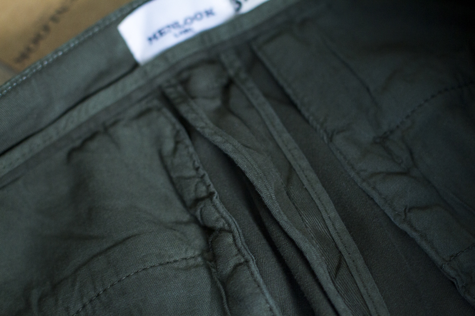 doublure chino menlook label