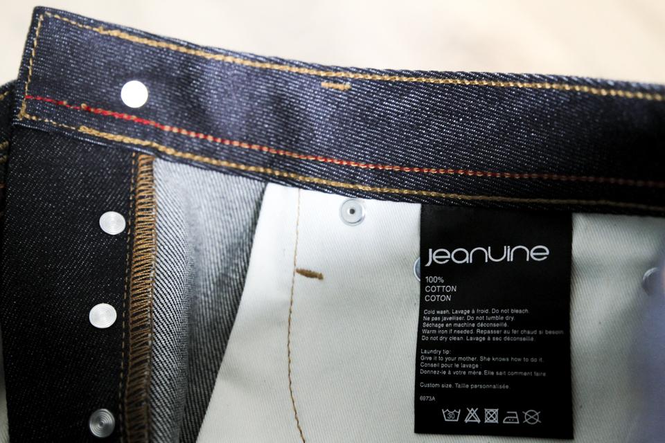 jeans jeanuine etiquette