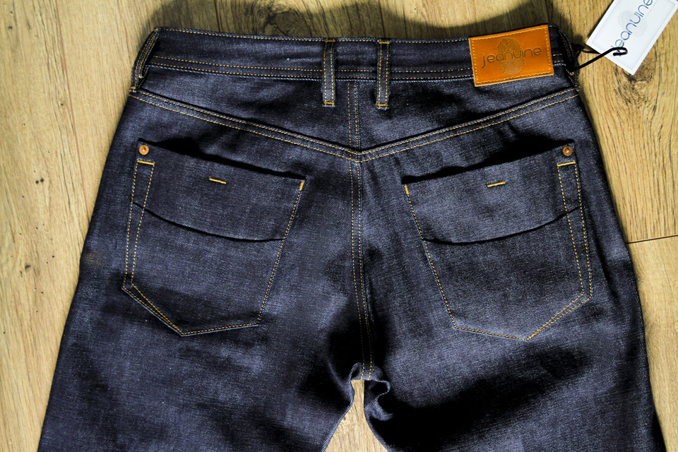 jeans jeanuine poches