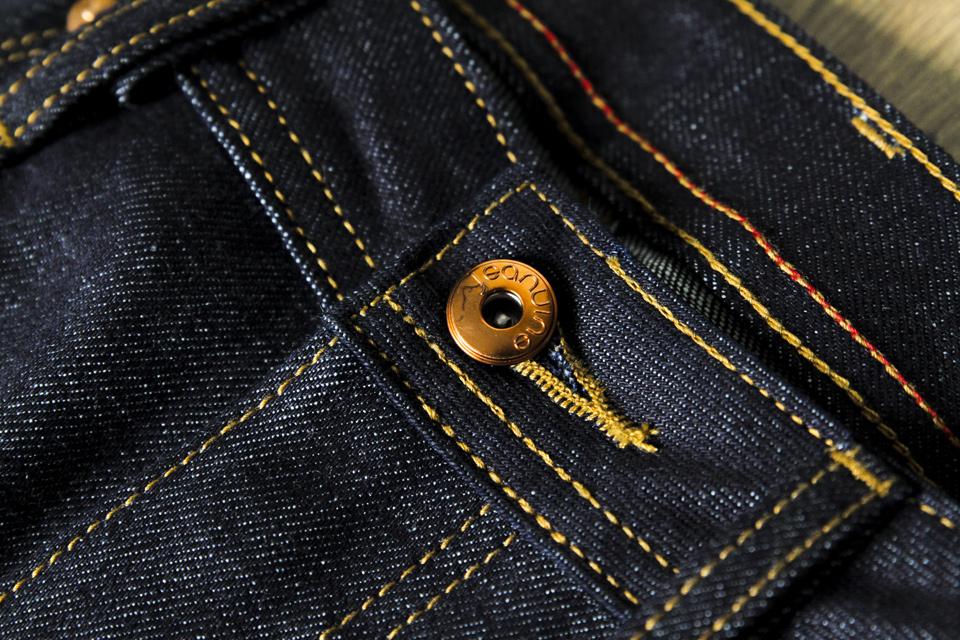 jeanuine bouton cuivre